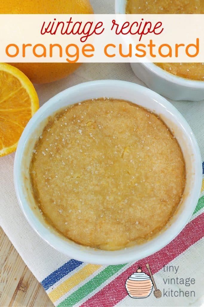 Homemade Custard Recipe