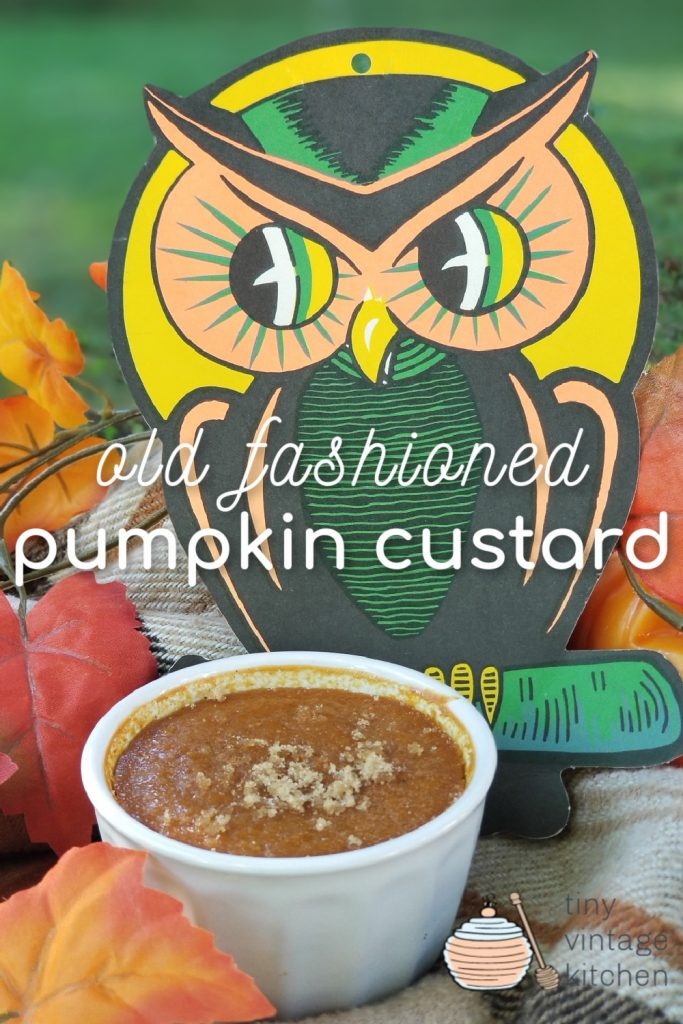 Pumpkin Custard Recipe