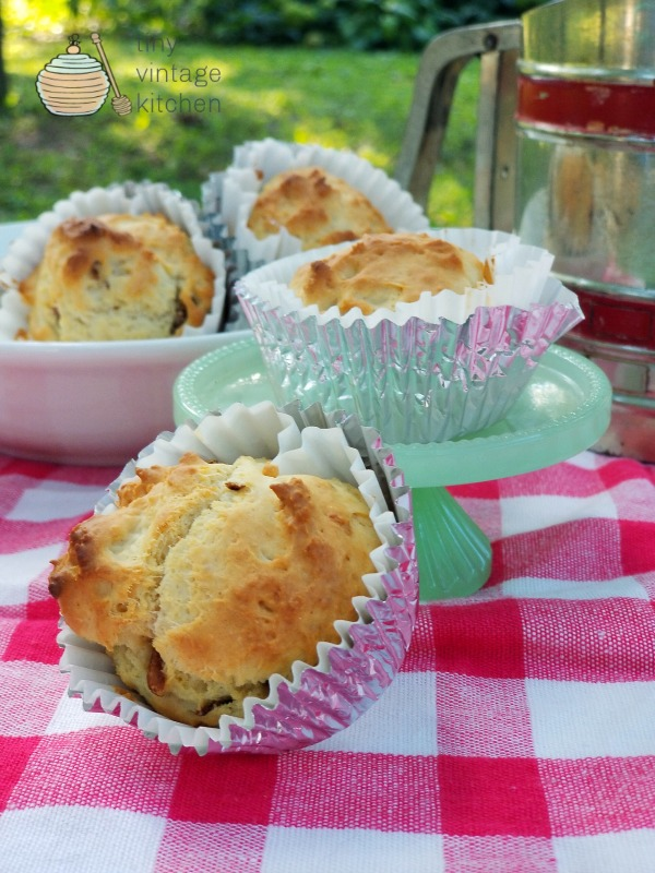 Vintage Bacon Muffins Recipe