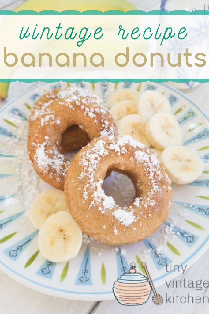 Old Fashioned Banana Donuts Recipe