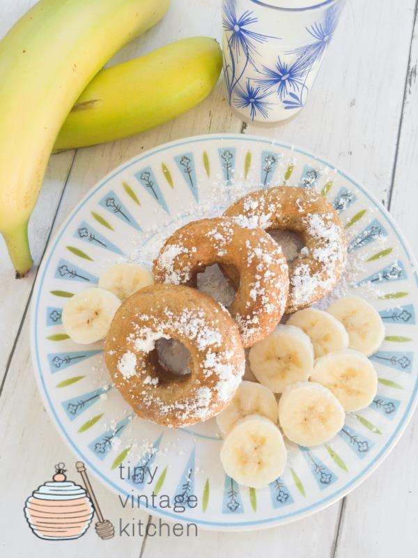 How to Make Banana Doughnuts