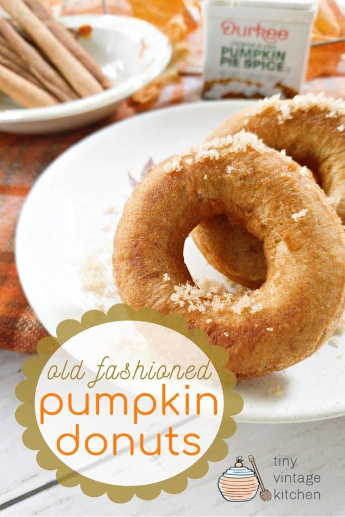 Pumpkin Donuts Recipe