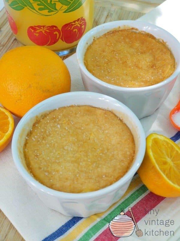 How to Make Orange Custard