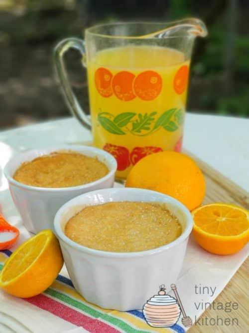 Orange Custard Recipe Tutorial