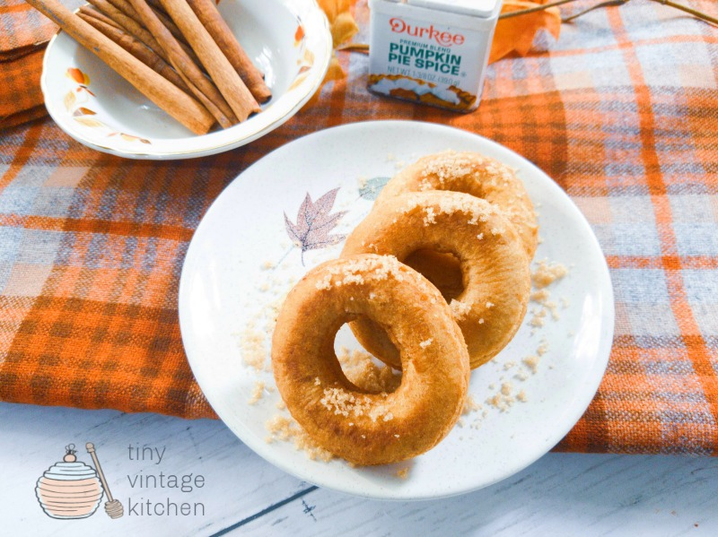 Pumpkin Spice Donut Recipes