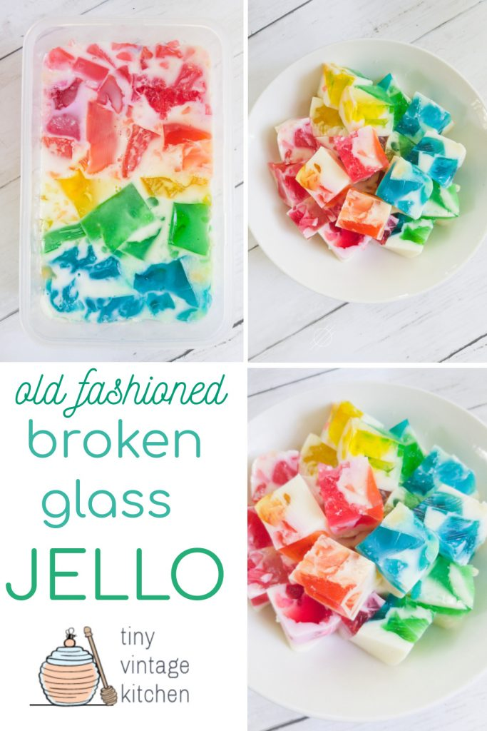 How to Make Broken Glass Jello Molds