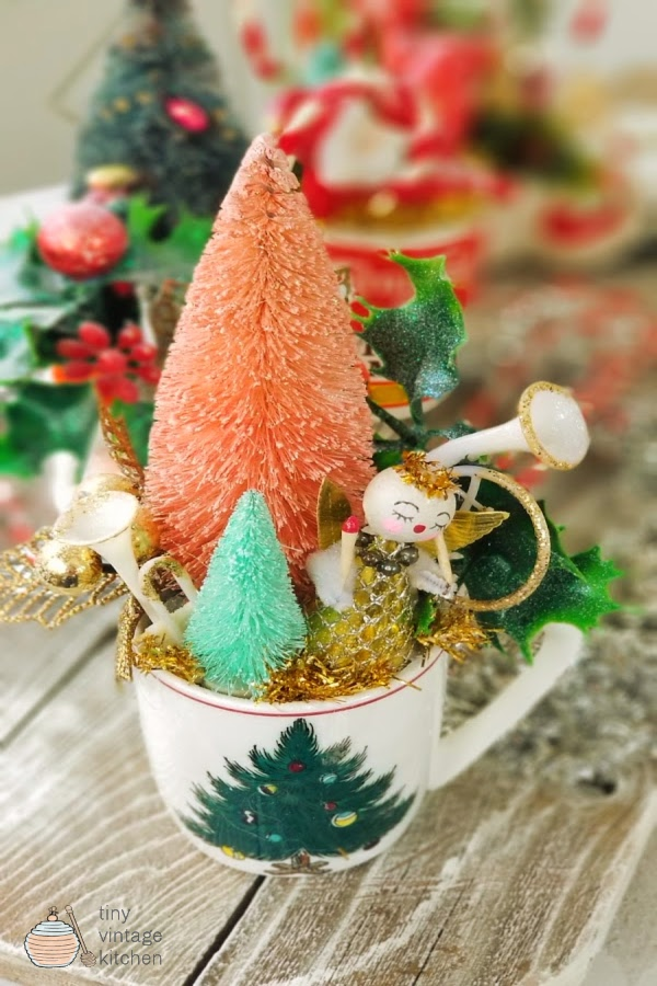 Easy Upcycled Christmas Spice Tins
