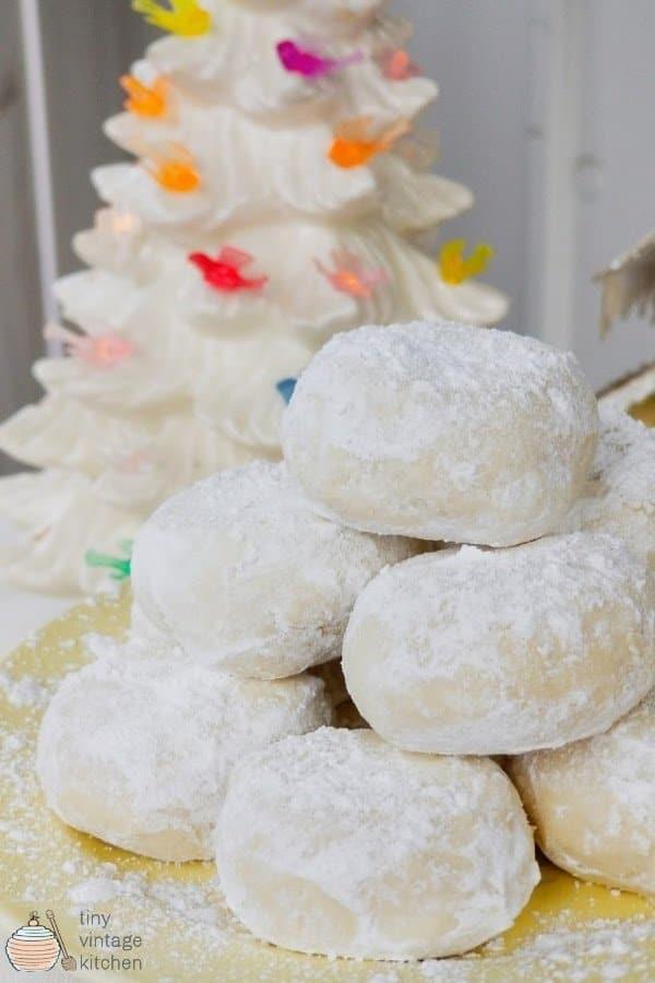 Lemon Snowdrop Cookies Recipe