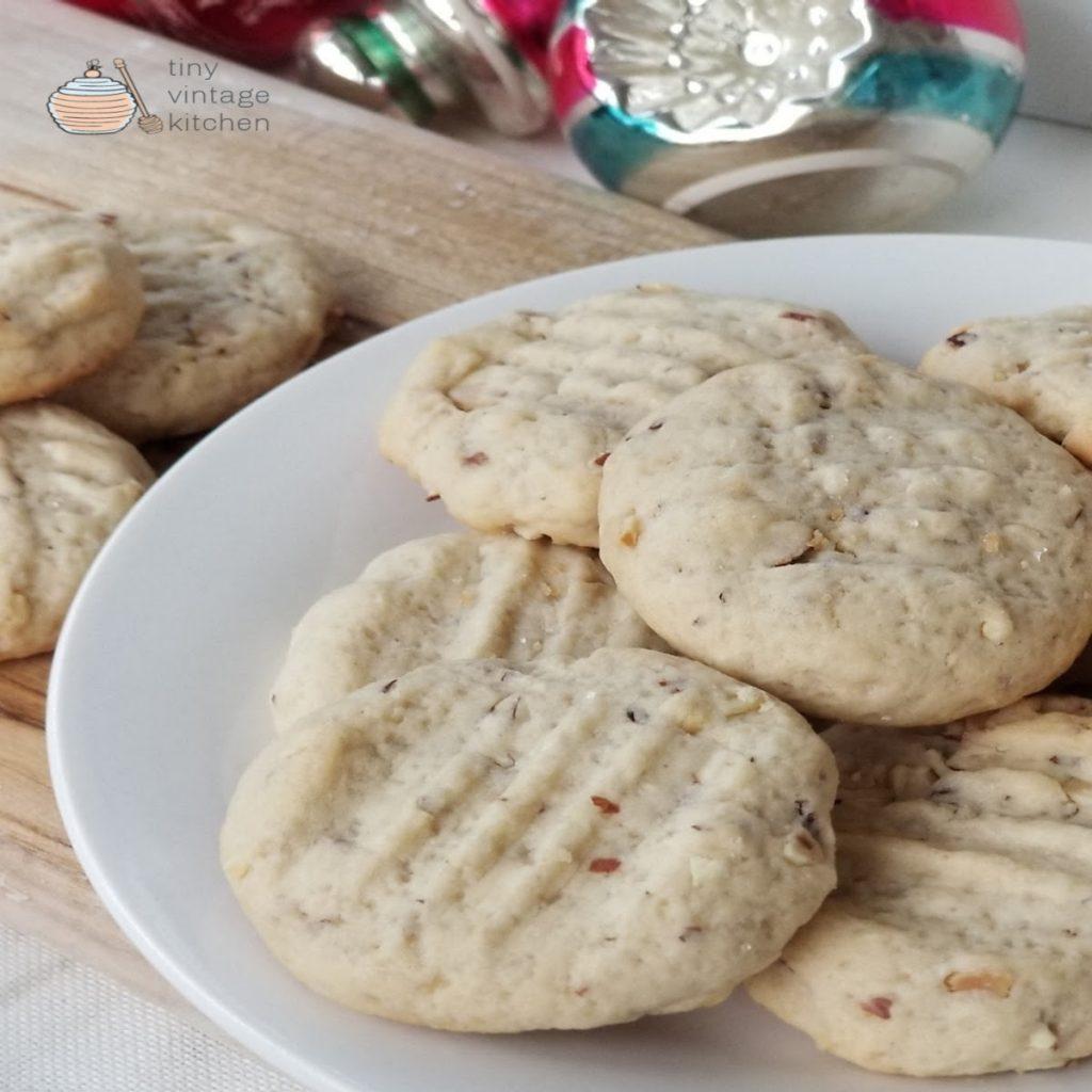 Almond Butter Christmas Cookies