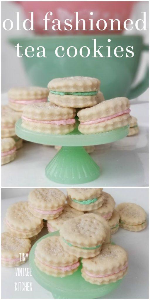 Old Fashioned Tea Cookie Recipes
